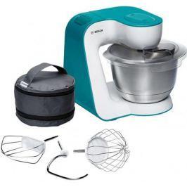 Кухонный комбайн Bosch MUM54D00 бело-голубой