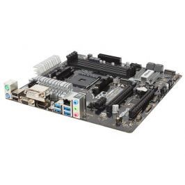 Материнская плата ASRock A320M PRO4 (SAM4, AMD A320, 4*DDR4, 2*PCI-E16x, D-SUB, DVI, HDMI, SATAIII+RAID, M.2, GB Lan, USB3.0, mATX, Retail)