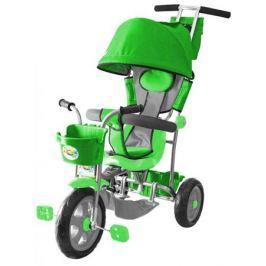 Велосипед трехколёсный Rich Toys Galaxy Лучик с капюшоном зеленый 5595/Л001