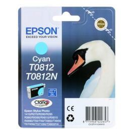 Картридж Epson Original T11124A10 Cyan (повышенной емкости) для R270/ 390/ RX590