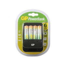 Зарядное устройство GP PowerBank 2, 6 часов + аккум. 4шт. 2700mAh (GP PB570GS270-CR4)