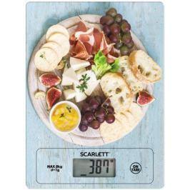 Весы кухонные Scarlett SC-KS57P25 рисунок/деликатесы