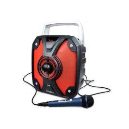 Портативная акустическая система TESLER PSS-999 Черный/Красный, дисплей, Мощность колонки 20 Вт