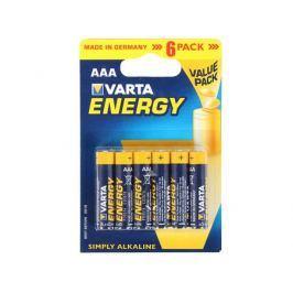 Батарейки VARTA Energy AAA блистер 6 04103229416