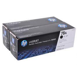 Картридж HP CE278AF двойная упаковка LJ 1566/1606dn/1536dnf
