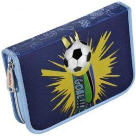 Пенал Hama Soccer синий/голубой 139119