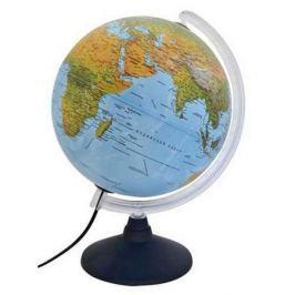 Глобус ELITE с двойной картой, диаметр 30 см, новая карта, подсветка, пласт подставка и меридиан