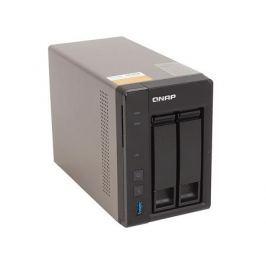 Сетевой накопитель QNAP TS-253A-4G Сетевой RAID-накопитель, 2 отсека для HDD, HDMI-порт. Четырехъядерный Celeron N3150 1,6 ГГц