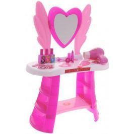 Игровой набор 1toy туалетный столик бол. сердце, 10 пр. в наборе, фен дует
