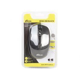 Мышь проводная Ritmix ROM-200 Black USB