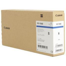 Картридж Canon PFI-706 B для плоттера iPF8400/9400. Светло-голубой. 700 мл.