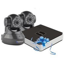 Комплект видеонаблюдения Vstarcam NVR-C37 KIT Vstarcam N400P + Беcпроводная IP-камера Vstarcam C7837WIP x2