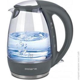Чайник Polaris PWK 1719CGL 2200 Вт серый 1.7 л стекло