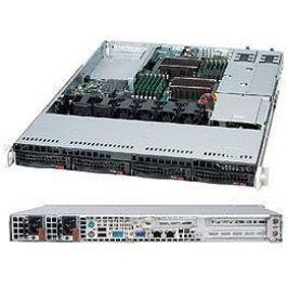 Серверный корпус 1U Supermicro CSE-815TQC-R706WB 720 Вт чёрный