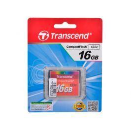 Карта памяти Compact Flash 16Gb Transcend (133x)