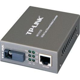 Медиаконвертер TP-LINK MC111CS 10/100M RJ45 to 100M single-mode, Full-duplex, up to 20Km
