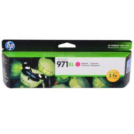 Картридж HP CN627AE (HP 971XL) для HP Officejet Pro X476dw/X576dw/X451dw/X551dw. Пурпурный. 6600 страниц.
