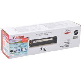 Картридж Canon 716 BK для LBP-5050 / 5050N, MF8030CN / 8050CN. Чёрный. 2300 страниц.