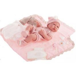 Кукла-младенец Munecas Antonio Juan Кармелита с пеленальным комплектом 42 см 5095P