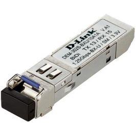 Модуль D-Link DEM-302S-BXU/10A1A (10шт. в коробке) WDM SFP-трансивер с 1 портом 1000BASE-BX-U (Tx:1310 нм, Rx:1550 нм) для одномодового оптического ка