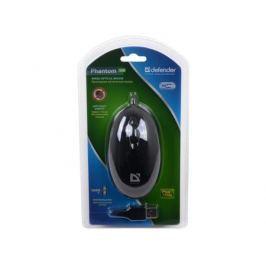 Мышь Defender Phantom 320 B (Черный), USB 2кн, 1кл-кн.