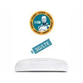 Маршрутизатор UPVEL UR-321BN ARCTIC WHITE Bandle 3G/4G/LTE Wi-Fi роутер стандарта 802.11n 300 Мбит/с + Бонус ESET Nod32 Smart Security 3 мес. бесплат