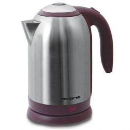 Чайник Polaris PWK 1864CA 1800 Вт 1.8 л металл серебристый бордовый