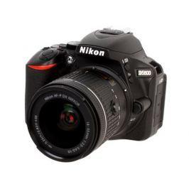 Фотоаппарат Nikon D5600 Black KIT (18-55 P VR 24.2Mp, 3.2