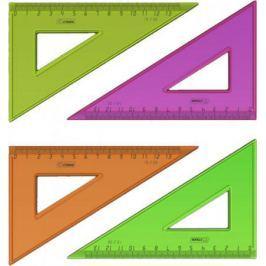 Треугольник СТАММ ТК33, 13 см, флюоресц., прозр., 4 цв.