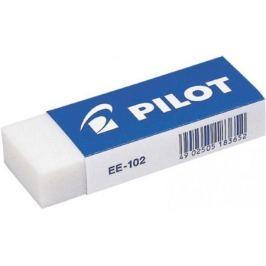 Ластик Pilot EE-102, виниловый, разм. 60х20х12 мм, белый, 20 шт/уп., цена за 1 шт.