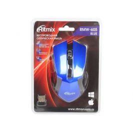 Мышь беспроводная Ritmix RMW-605 Blue USB