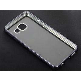 Силиконовый чехол с рамкой для Samsung Galaxy A3 (2016) DF sCase-22 (space gray)