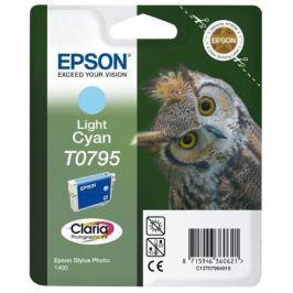 Картридж Epson C13T07954010 для Epson Stylus Photo 1500W голубой
