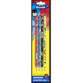 Набор графитовых карандашей Action! Бэтмен:отважный и смелый 4 шт BA-ALP115/4