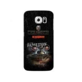 Чехол Deppa Art Case и защитная пленка для Samsung Galaxy S6, Танки_Разведчик,