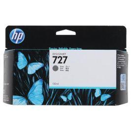 Картридж HP B3P24A №727 для Designjet T920/T1500. Серый. 130-ml