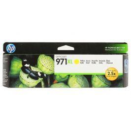 Картридж HP CN628AE (HP 971XL) для HP Officejet Pro X476dw/X576dw/X451dw/X551dw. Жёлтый. 6600 страниц.