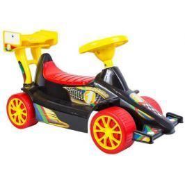 ОР894 Каталка Гоночный Спорткар Super Sport 1 цвет черно-красный 5293