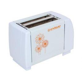 Тостер электрический Endever Skyline ST-109 850 Вт, 7 регулировок поджаривания, 2 отсека, механическое управление, автоматический выброс тостов