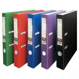 Папка-регистратор из ламинированного картона, 80 мм, А4, красная IND 8LA RD-DS