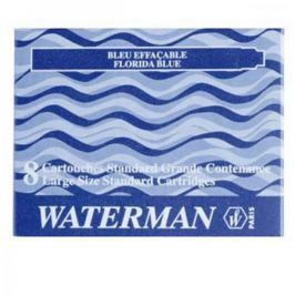 52012 Картридж с чернилами для перьевой ручки SHORT, цвет синий, 6 шт. в картонной упаковке