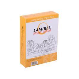 Плёнка для ламинирования Lamirel (LA-78663) 75x105 мм, 125 мкм, глянцевая, 100 шт.
