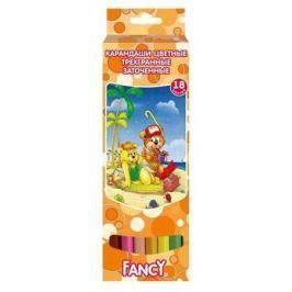 Набор цветных карандашей Action! Fancy 18 шт FCP401-18 FCP401-18