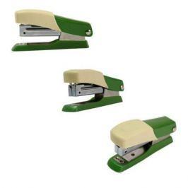 Мини-степлер FUSION, скоба № 10, на 10 листов, зеленый/желтый IFS705GN/YL