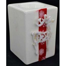 Подсвечник ОЛЕНЬ, 1 шт, 7*10,5 см, керамика