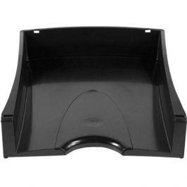 Лоток для бумаг горизонтальный LUX, черный IT808Bk