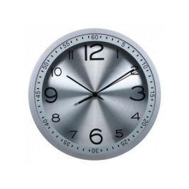 Часы Бюрократ WallC-R05P/silver настенные аналоговые серебристый