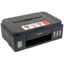 МФУ Canon PIXMA G2400 (Струйный, СНПЧ, 4800x1200, 8,8 изобр./мин для ч/б, 5,0 изобр./мин для цветной, A4, A5, B5, LTR, конверт, фотобумага: 13x18 см,