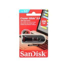Флешка USB 256Gb Sandisk Cruzer Glide SDCZ600-256G-G35 черный красный