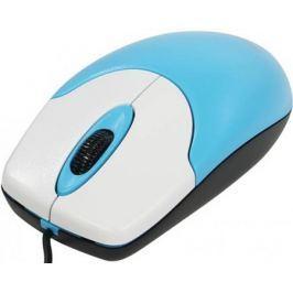 Мышь проводная Genius NetScroll 100 V2 голубой USB